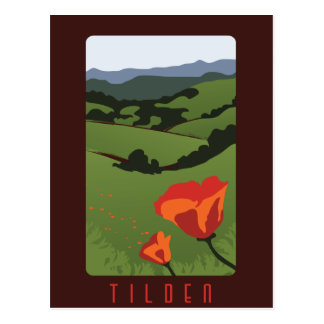Tilden地方公園の郵便はがき ポストカード