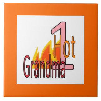 Tile 1人の熱いママ タイル