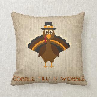 """""""Till Uの動揺""""の感謝祭のソファの枕がつがつむさぼって下さい クッション"""