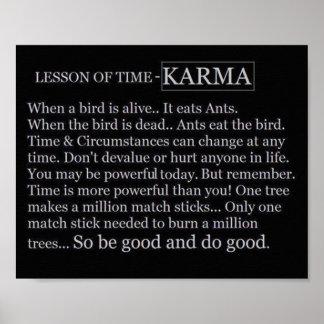 Time&Karmaポスター ポスター