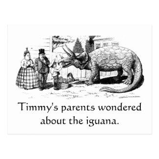 Timmyのイグアナ ポストカード