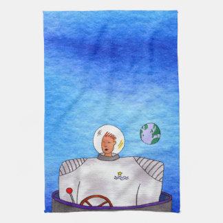 TinCanの宇宙飛行士 キッチンタオル