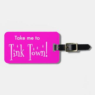 Tink Tinkerbelleディズニーの荷物のラベル ラゲッジタグ