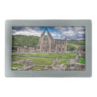 Tinternの古代大修道院、Cistercian修道院、ウェールズ 長方形ベルトバックル