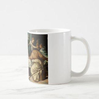 Tintoretto - Emmausの夕食 コーヒーマグカップ