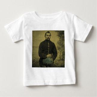 Tintype内戦連合兵士 ベビーTシャツ