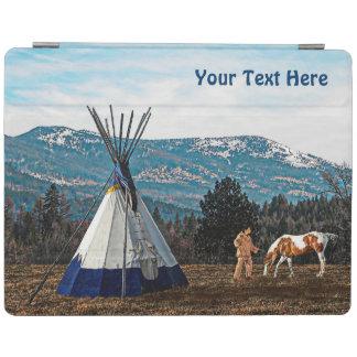 Tipi -冬のキャンプ iPadスマートカバー