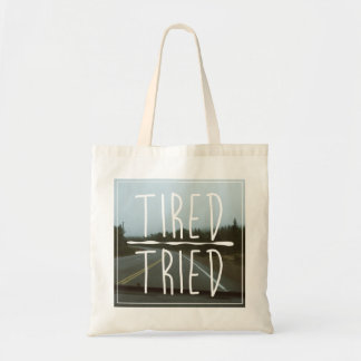 TIRED/TRIED トートバッグ