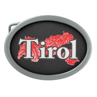 Tirol 卵形バックル