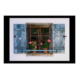 Tirol - finestra ポスター