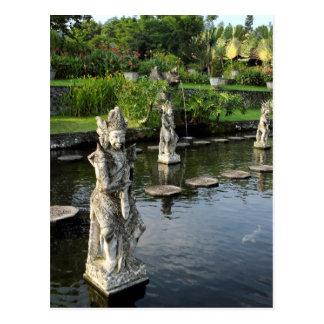 Tirtaganga水宮殿バリ島 ポストカード