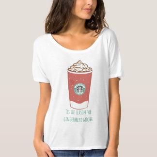Tisジンジャーブレッドモカのための季節 Tシャツ