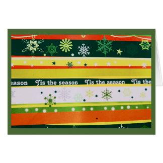 Tis季節の挨拶状 カード