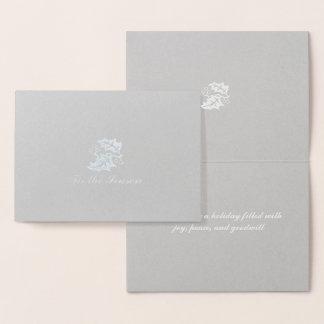 Tis季節の銀ぱく 箔カード