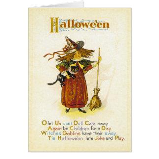 Tis Hallowe'en カード