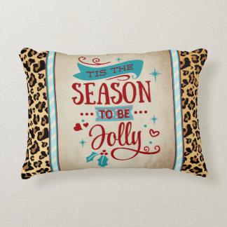 Tis the Season Christmas Accent Pillow アクセントクッション
