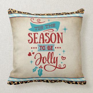 Tis the Season Christmas Pillow クッション