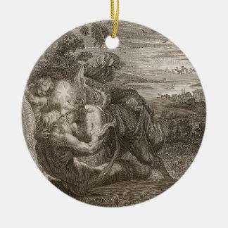 Tithonusのオーロラの夫はGrasshopに、回りました セラミックオーナメント