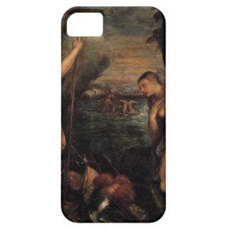 Titian著スペインの援助の宗教 iPhone SE/5/5s ケース