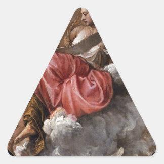 Titian著知恵 三角形シール