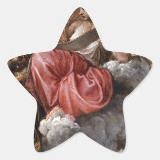 Titian著知恵 星型シール