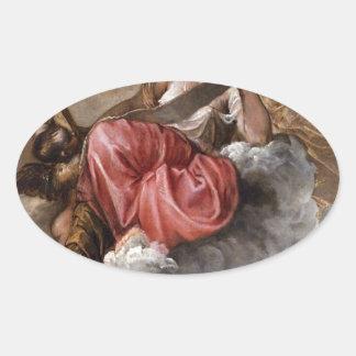 Titian著知恵 楕円形シール