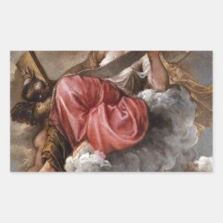 Titian著知恵 長方形シール