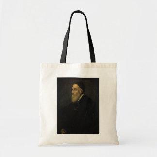 Titian著自画像、ルネサンス芸術 トートバッグ