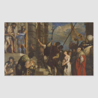 Titian - Ecceのヒト属 長方形シール
