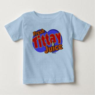 Tittay新しいジュース ベビーTシャツ