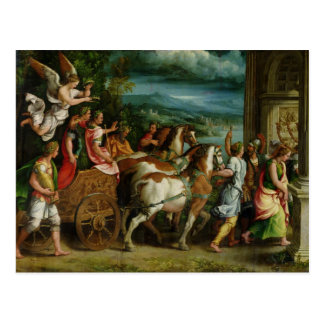 TitusおよびVespasian、c.1537の勝利 ポストカード