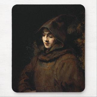 TitusヴァンRijn修道士の習慣 マウスパッド