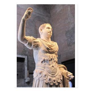 Titus Flavius Vespasianus -ローマ皇帝 ポストカード