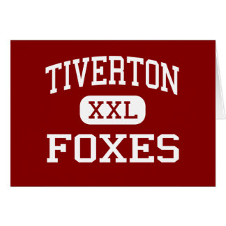 Tiverton -キツネ-中間- Tivertonロードアイランド カード