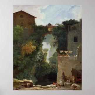 Tivoliの滝 ポスター