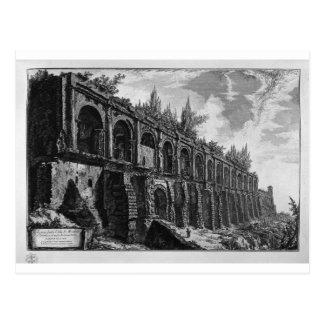 TivoliのMaecenasの別荘の残物 ポストカード