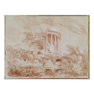 TivoliのSybilの寺院 ポスター