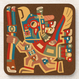 Tiwanaku日曜日の戦士のコースター 飲み物コースター