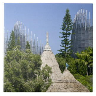 Tjibaouの文化的な中心、ヌメア、ニューカレドニア2 タイル