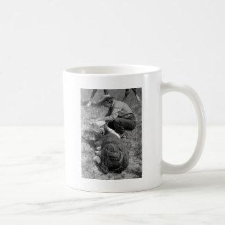 TLCの30年代を与えている女性のカーボーイ コーヒーマグカップ