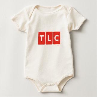 TLCネットワークのロゴのTシャツ ベビーボディスーツ