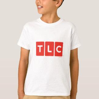 TLCネットワークのロゴのTシャツ Tシャツ