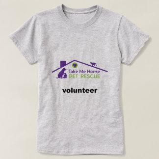 TMHPRのボランティア-女性のTシャツ Tシャツ