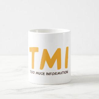TMI -たくさんの情報 コーヒーマグカップ