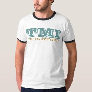 TMI-たくさんの情報Tシャツ Tシャツ