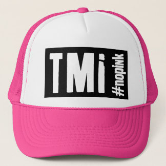 TMI -トラック運転手の帽子 キャップ