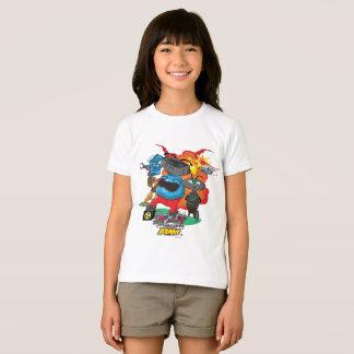 TMWYの同化の無秩序の役人のTシャツ Tシャツ