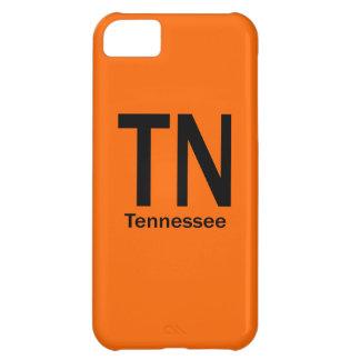TNテネシー州の明白な黒 iPhone5Cケース