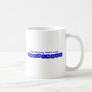 TNETENNBA -おはよう コーヒーマグカップ