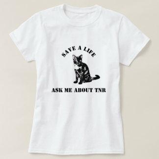 TNRについて私に尋ねて下さい Tシャツ